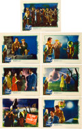"""Miscellaneous:Movie Posters, The Man from Planet X (United Artists, 1951). Lobby Cards(7) (11"""" X 14""""). A British contribution to the science fi..."""