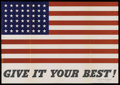 "Movie Posters:War, War Propaganda Poster (U. S. Government, 1942). World War IIIncentive Poster (20"" X 28"")...."
