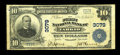 National Bank Notes:Missouri, Tarkio, MO - $10 1902 Plain Back Fr. 624 The First NB Ch. # 3079....