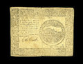 Colonial Notes:Continental Congress Issues, Continental Currency April 11, 1778 $4 Fine. A well circulated butproblem-free genuine example from the very scarce Yorktow...