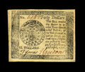 Colonial Notes:Continental Congress Issues, Continental Currency April 11, 1778 $40 Choice New. Newmandescribes seven different varieties of Counterfeit $40 Yorktownn...