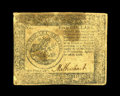 Colonial Notes:Continental Congress Issues, Continental Currency September 26, 1778 $5 Very Fine. A bit ofstaining is found on this crisp Continental note....