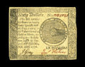 Colonial Notes:Continental Congress Issues, Continental Currency September 26, 1778 $60 Extremely Fine-AboutNew. A couple of light folds are noticed on this example wh...