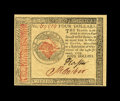Colonial Notes:Continental Congress Issues, Continental Currency January 14, 1779 $4 Gem New. A lovely note with exceptional margins, clear printing on both sides, good...