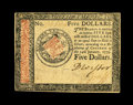Colonial Notes:Continental Congress Issues, Continental Currency January 14, 1779 $5 Choice About New. Apleasing example from this final Continental emission that look...
