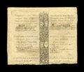Colonial Notes:Connecticut, Connecticut (1799) Hartford and New Haven Turnpike Block of Four.Extremely Fine. This block of four Hartford and New Haven ...