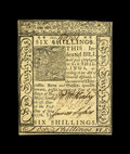 Colonial Notes:Delaware, Delaware January 1, 1776 6s Choice New. Crisp, boldly signed andfresh but with margins that are trimmed too tightly to allo...