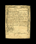 Colonial Notes:Massachusetts, Massachusetts August 18, 1775 20s Very Fine-Extremely Fine. A lovely Sword in Hand Note both engraved and printed by Paul Re...