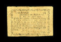 Colonial Notes:Massachusetts, Massachusetts June 18, 1776 1s/8d Fine-Very Fine. Some edgeroughness is seen on this note which is only the fifth we have s...