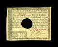 Colonial Notes:New Hampshire, New Hampshire April 29, 1780 $3 Choice About New. There is a light centerfold found on this otherwise Gem looking New Hampsh...