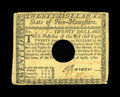Colonial Notes:New Hampshire, New Hampshire April 29, 1780 $20 Very Fine. This is a very wellmargined example of this New Hampshire note that is well sig...