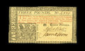 Colonial Notes:New Jersey, New Jersey February 20, 1776 £3 Choice New. This is number 4335 of 9,500 issued. The margins are close all around but are t...