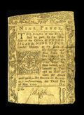 Colonial Notes:Rhode Island, Rhode Island May 3, 1775 9d Very Good. This is a very difficult note to obtain in any grade as evidenced by the fact that th...
