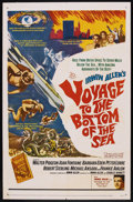 "Movie Posters:Adventure, Voyage to the Bottom of the Sea (20th Century Fox, 1961). One Sheet(27"" X 41""). Adventure. ..."