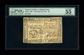 Colonial Notes:South Carolina, South Carolina December 23, 1776 $2 PMG About Uncirculated 55 EPQ.A hard centerfold is found on this well margined and, mo...