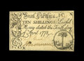 Colonial Notes:South Carolina, South Carolina April 10, 1778 10s Choice New. A totally pleasingpiece with margins all the way around. A touch of residue a...