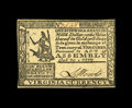 Colonial Notes:Virginia, Virginia October 20, 1777 $1/6 Very Choice New. An absolutely incredible grade for this issue and one of the very nicest pie...