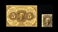 Fractional Currency:First Issue, Fr. 1228 5c First Issue Choice New. The nice perforations come into contact with the frame line a little too much to claim a... (Total: 2 items)