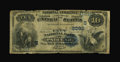 National Bank Notes:Kentucky, Paducah, KY - $10 1882 Date Back Fr. 540 The City NB Ch. # (S)2093....