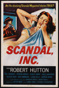 "Movie Posters:Crime, Scandal, Inc. (Republic, 1956). One Sheet (27"" X 41""). Crime. ..."