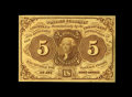 Fractional Currency:First Issue, Fr. 1230 5c First Issue Choice New. A very well margined first issue type note that is printed on bright yellow paper....