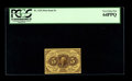 Fractional Currency:First Issue, Fr. 1231 5¢ First Issue PCGS Very Choice New 64PPQ. The back is centered a bit high, which no doubt accounts for the grade. ...
