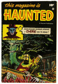 Golden Age (1938-1955):Horror, This Magazine Is Haunted #1 River City Pedigree (Fawcett, 1951)Condition: FN/VF....