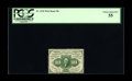 Fractional Currency:First Issue, Fr. 1241 10¢ First Issue PCGS Choice About New 55. A really nice example of this very scarce Perforated Edge no-monogram 10¢...