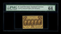 Fractional Currency:First Issue, Fr. 1279 25c First Issue PMG Choice Uncirculated 64 EPQ. This is alovely example of this perforated first issue type that h...