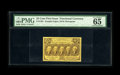 "Fractional Currency:First Issue, Fr. 1281 25c First Issue PMG Gem Uncirculated 65 EPQ. A wellcentered 50¢ First Issue note distinguished by the ""EPQ"" design..."