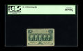 Fractional Currency:First Issue, Fr. 1310 50¢ First Issue PCGS Gem New 65PPQ. While 65PPQ is a veryhigh grade and few perforated 50¢ notes will ever get the...
