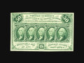 Fractional Currency:First Issue, Fr. 1312 50¢ First Issue Very Choice New. A perfect Gem save for the very left-end of the top margin, which comes a hair too...
