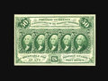 Fractional Currency:First Issue, Fr. 1313 50¢ First Issue Gem New. Beautifully centered on bothsides with excellent color and terrific eye appeal. This numb...