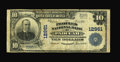 National Bank Notes:Kentucky, Paducah, KY - $10 1902 Plain Back Fr. 635 The Peoples NB Ch. #12961. ...