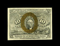 Fractional Currency:Second Issue, Fr. 1245 10¢ Second Issue Gem New. Not a common note, but very difficult to find at this grade level. This one is broadly ma...