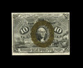 Fractional Currency:Second Issue, Fr. 1249 10c Second Issue Choice New. It appears that only the centering affects the grade as the paper is wholly original a...