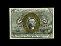 Fractional Currency:Second Issue, Fr. 1284 25c Second Issue Very Choice New. This is a much rarer number, particularly in high grade. The colors of this ex-O'...