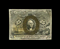 Fractional Currency:Second Issue, Fr. 1290 25c Second Issue Choice New. The as made paper wrinkles should not be confused with grade limiting folds. The paper...