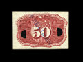 Fractional Currency:Second Issue, Milton 2E50R.3a 50¢ Second Issue Experimental Superb Gem New. This is a perfectly centered, beautifully printed, utterly ori...