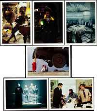 "Superman, the Movie (Warner Brothers, 1978). Lobby Cards (6) (10"" X 14""). Mint. From the J"