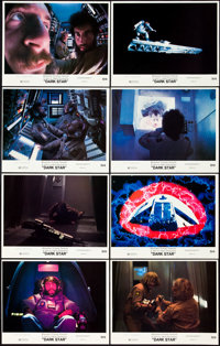 """Dark Star (Bryanston, 1974). Lobby Card Set of 8 (11"""" X 14""""). Not big on budget, this space co"""