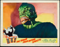 "Miscellaneous:Movie Posters, It! The Terror from Beyond Outer Space (United Artists,1958). Lobby Card (11"" X 14""). Marshall Thompson plays a str..."