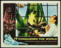 "Miscellaneous:Movie Posters, It Conquered the World (American International Pictures,1956). Lobby Card (11"" X 14""). Peter Graves and Lee Van Cle..."