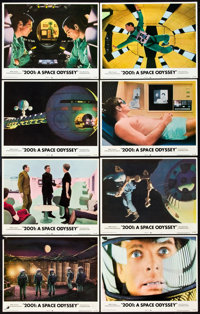 "2001 Space Odyssey (MGM, R-1972). Lobby Card Set of 8 (11"" X 14""). From the Dawn of Man to the"