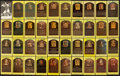 Baseball Collectibles:Others, Baseball Greats Signed Hall of Famer Plaque Postcards Lot of 83. ...