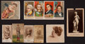 "Non-Sport Cards:Lots, 1880's American Tobacco ""N"" and ""E"" Card Collection (11). ..."
