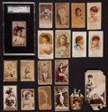 "Non-Sport Cards:Lots, 1880's American Tobacco ""N"" card Collection (19). ..."