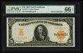 Large Size:Gold Certificates, Fr. 1172 $10 1907 Gold Certificate PMG Gem Uncirculated 66 EPQ.....