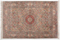 Royal Memorabilia:Other, TABRIZ SILK RUG . 72 x 49-1/2 inches (182.9 x 125.7 cm). ...