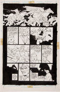 Original Comic Art:Panel Pages, Frank Miller and Klaus Janson Batman: The Dark KnightReturns #4 Page 31 Original Art (DC, 1986)....